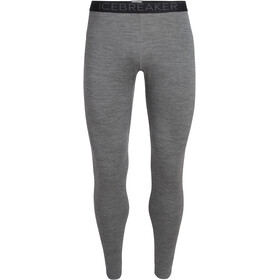 Icebreaker 260 Tech Leggings Heren, gritstone heather